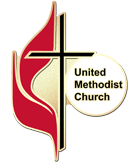 united methodist church pin graphic