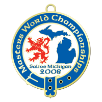 masters world championships collectible pin graphic