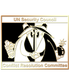 un security council pin graphic