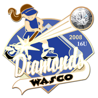 wasco diamonds pin graphic